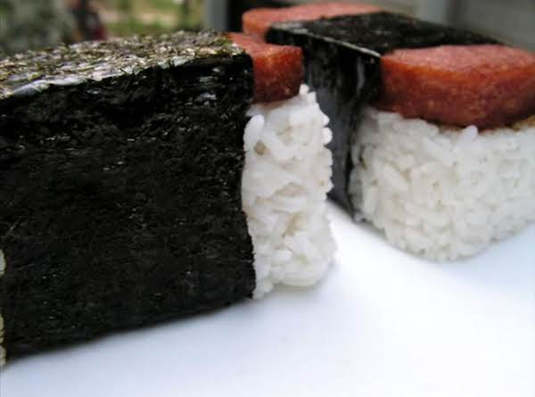 Hawaiian Style Spam Musubi Recipe