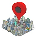 Map Point Augmented Reality icon