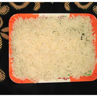 Boiled Rice With Soya