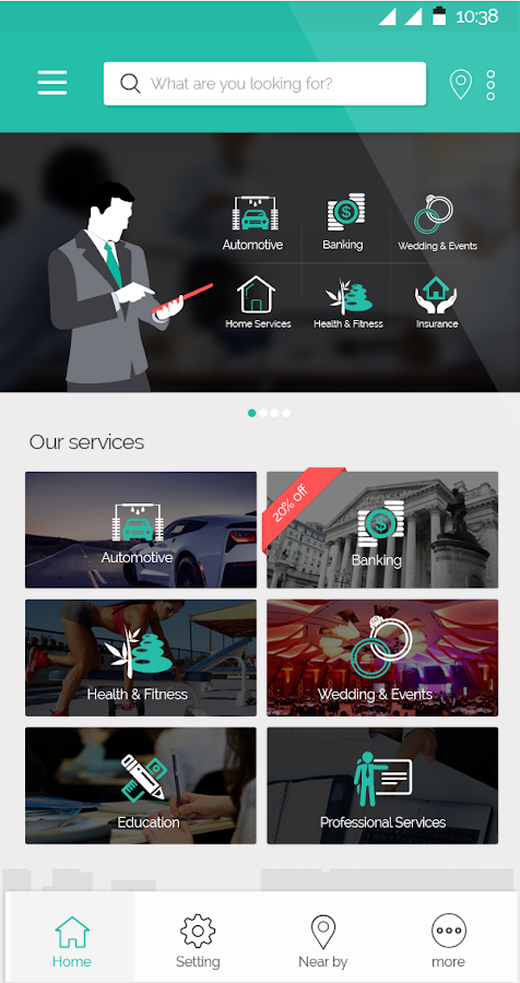 SIZMO - One Stop Services!- screenshot