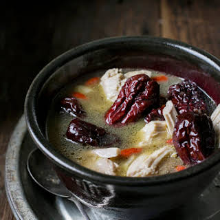 Chicken, Red Dates and Ginger Soup.