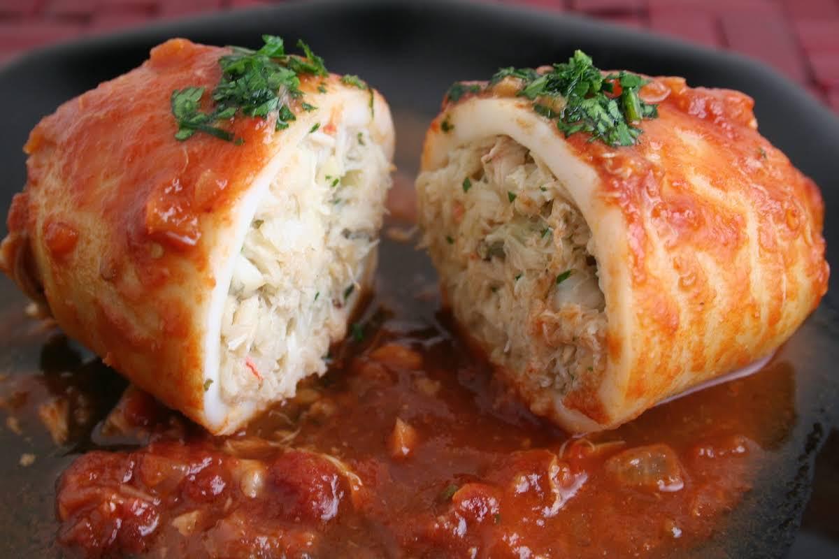 10 Best Crab Stuffed Squid Recipes