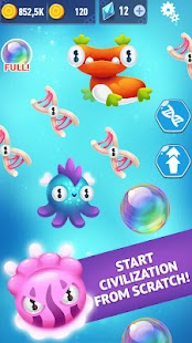 Alien Evolution Clicker: Species Evolving Screenshot