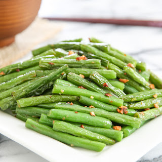 Chinese Style Garlic Green Beans