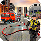 Grand Rescue NYC Firefighter Truck Simulator 2018