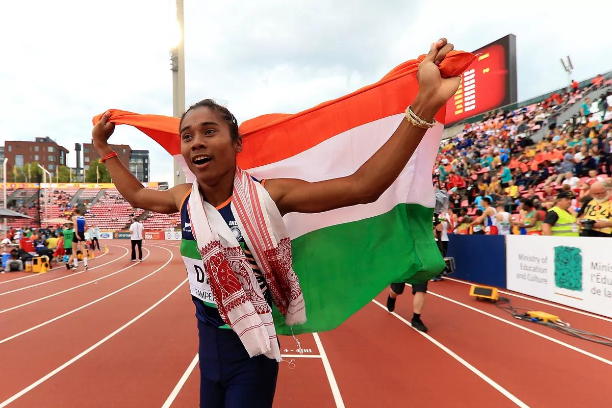 Hima Das athletics