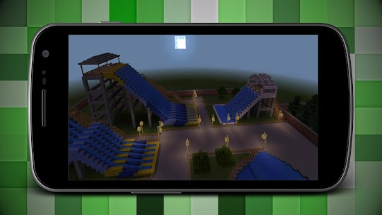 Water Slide Race Park for MCPE - náhled