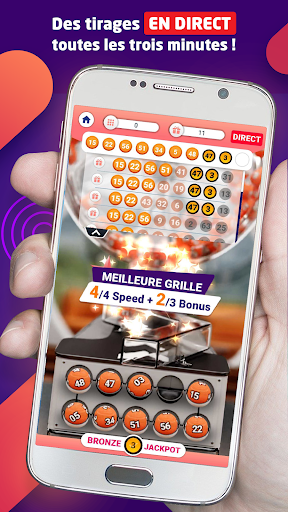 Bravospeed : loterie gratuite u00e0 5Mu20ac  captures d'u00e9cran 2