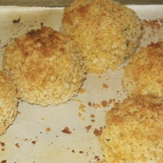 Baked Cheesy Couscous Balls Recipe