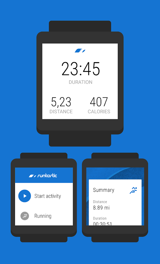 Runtastic Running & Fitness- screenshot