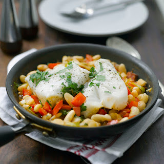 One Pot Haddock And Bean Supper.