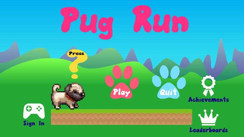 android Pug Run Screenshot 0