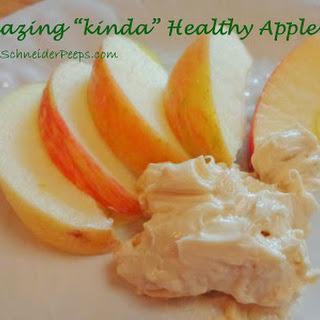 Healthy(ier) Apple Dip.