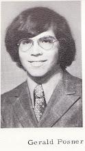 Photo: Gerald Posner, high school graduation 1972