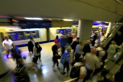 Full Gautrain services will resume on Wednesday after a two-week strike. Picture: SIZWE NDINGANE