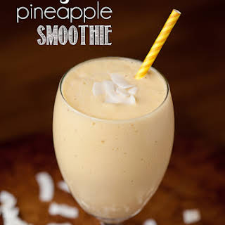 Mango Pineapple Smoothie.
