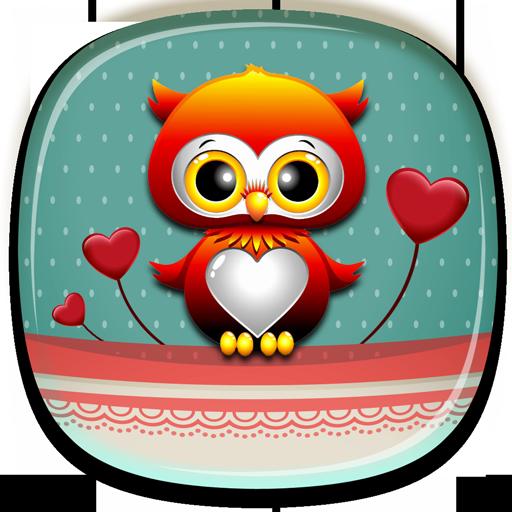 可愛动态壁纸 個人化 App LOGO-APP試玩