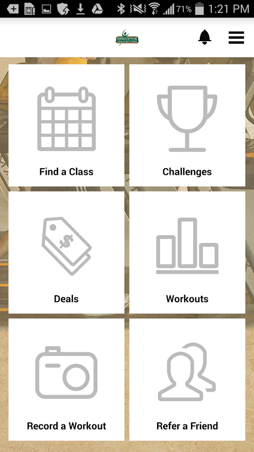 Innovative Health & Fitness- screenshot