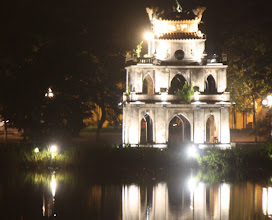 Photo: Day 228 -  Thap Rua (Tortois Tower) on the Lake in Ha Noi (Vietnam)