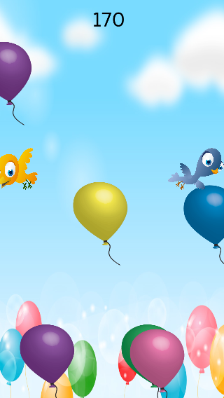 Balloon Pop 【for kids】- screenshot