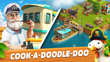 Funky Bay - Farm & Adventure game APK screenshot thumbnail 11