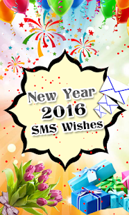 New Year 2016 SMS Wishes- screenshot thumbnail