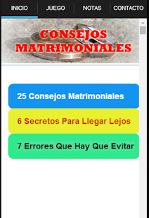 Consejos Matrimoniales - náhled