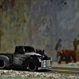 Muscle truck by Benjamin Howen III - Artistic Objects Toys ( car, pickup truck, die-cast, toy )