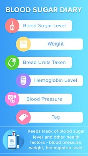 Blood Sugar Diary – Health Tracker v1.3 (Pro) 1