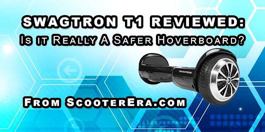 A review of the Swagtron T1 Hoverboard