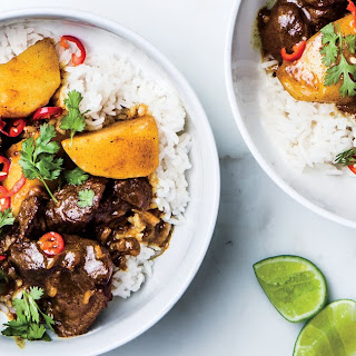 Coconut Beef Curry.