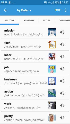 Arabic Dictionary & Translator - Dict Box 5.7.9 screenshots 3