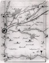 Photo: 1710  Breda, de dorpen Ginneken, Princenhage, Terheijden en Rijsbergen, het Mastbos,Liesbos, diverse wegen molens en waterlopen.