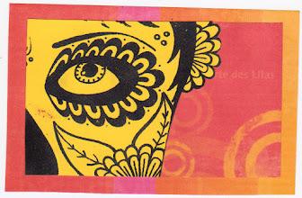 Photo: Wenchkin's Mail Art 366 - Day 143, Card 143a