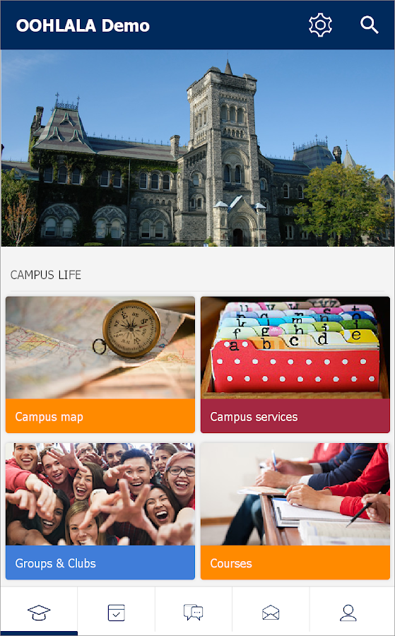 OOHLALA - Campus App- screenshot