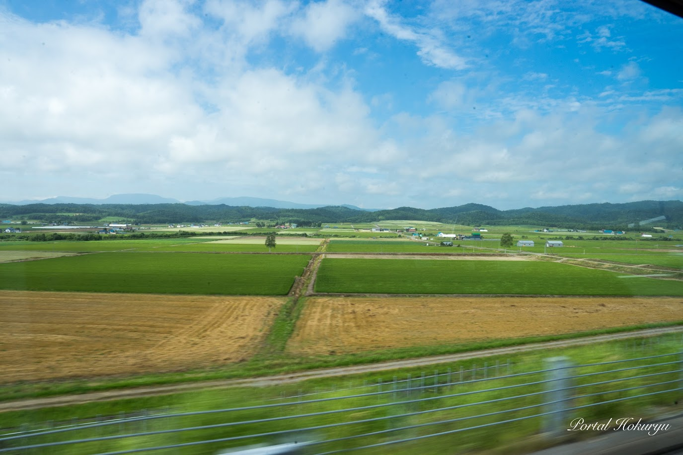 広がる田園風景