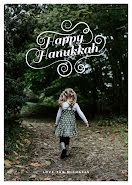 Florid Happy Hanukkah - Photo Card item