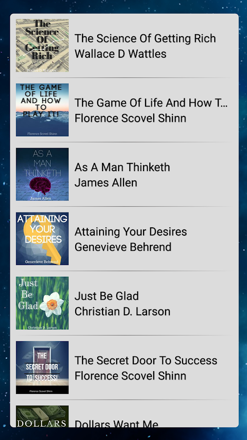 Law Of Attraction Library- screenshot