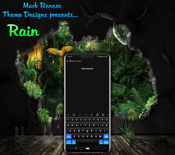 Rain Theme for LG G8, V40, V50 UX8 Android 9 for PC-Windows 7,8,10 and Mac apk screenshot 5