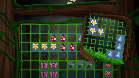 Block Puzzle in the Night Spirit Forest