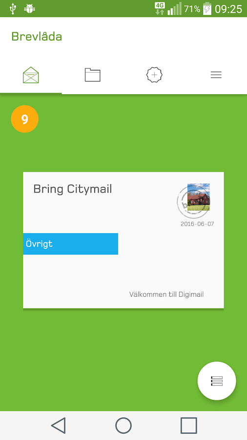 Digimail- screenshot