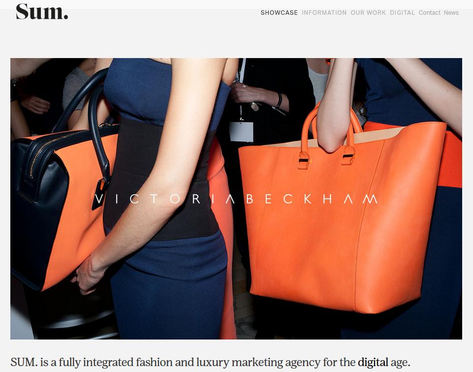 SUM - Top London Luxury Fashion Marketing Agency