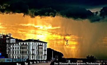 Photo: Der Himmel tobte gestern Nachmittag