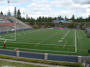 Photo: Albi Stadium in Spokane, Washington.  With renovations being performed on Martin Stadium in Pullman, the Cougars had their spring game at this location to accompany the fan base of Eastern Washington.