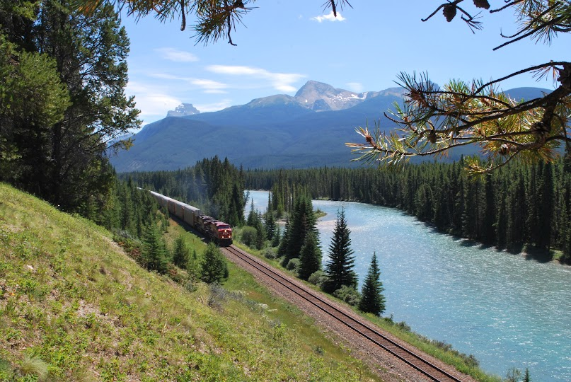 Banff, Rocky Mountain National Park, Bow River, HyWay 1A
