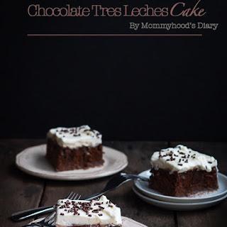 Chocolate Tres Leches Cake Recipe