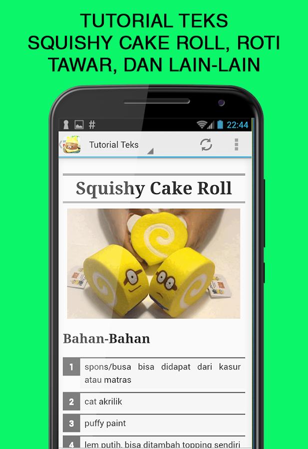 Squishy Roti Tawar : Cara Membuat Squishy - Android Apps on Google Play