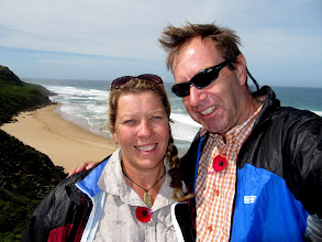 Photo: Year 2 Day 145 -  Us at Castle Cove on the Great Ocean Road