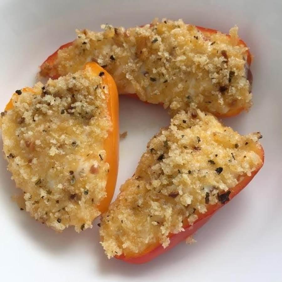 Pepper Poppers Recipe: Mini Sweet Pepper Poppers Recipe