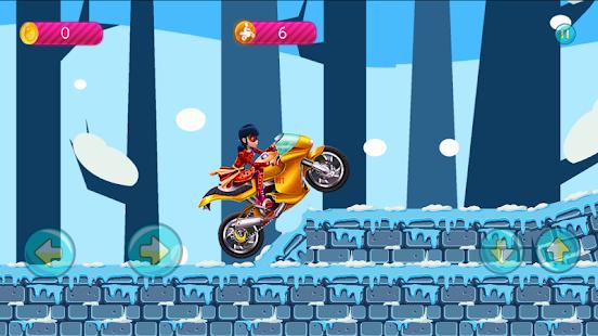 Ladybug in motorbike Go - náhled